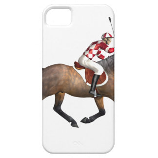 Horse Racing Jockey and Horse iPhone SE/5/5s Case