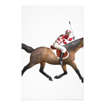 Horse Racing Jockey and Horse Stationery
