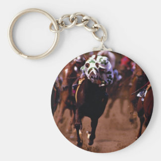 Horse racing key chains