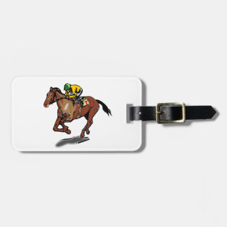 Horse Racing Luggage Tags