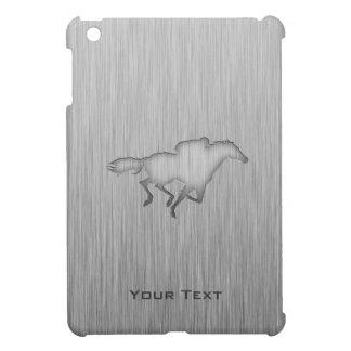 Horse Racing; metal-look iPad Mini Case
