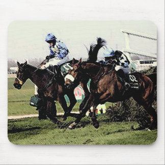 Horse Racing Mouse Pad