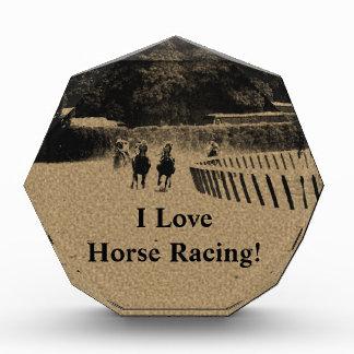 Horse Racing Muddy Track Grunge Awards