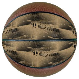 Horse Racing Muddy Track Grunge Basketball