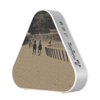 Horse Racing Muddy Track Grunge Bluetooth Speaker