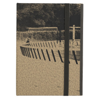 Horse Racing Muddy Track Grunge Cover For iPad Air