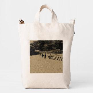 Horse Racing Muddy Track Grunge Duck Bag
