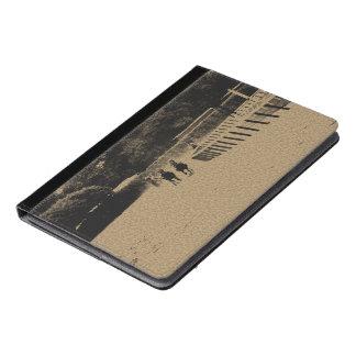 Horse Racing Muddy Track Grunge iPad Air Case