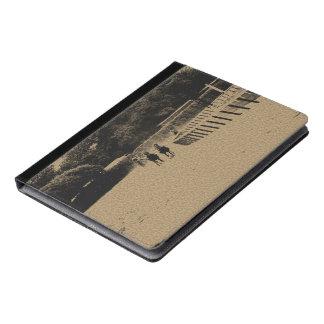 Horse Racing Muddy Track Grunge iPad Case