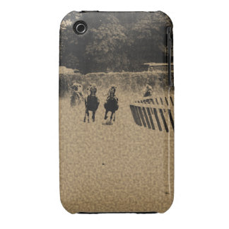 Horse Racing Muddy Track Grunge iPhone 3 Case