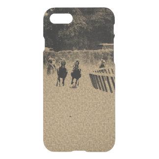 Horse Racing Muddy Track Grunge iPhone 7 Case