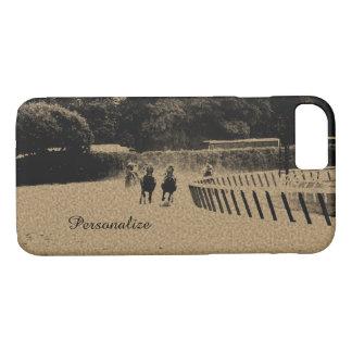 Horse Racing Muddy Track Grunge iPhone 8/7 Case