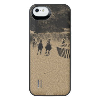 Horse Racing Muddy Track Grunge iPhone SE/5/5s Battery Case