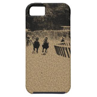 Horse Racing Muddy Track Grunge iPhone SE/5/5s Case