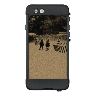Horse Racing Muddy Track Grunge LifeProof® NÜÜD® iPhone 6 Case
