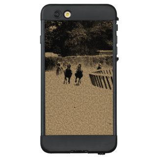 Horse Racing Muddy Track Grunge LifeProof® NÜÜD® iPhone 6 Plus Case