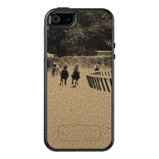 Horse Racing Muddy Track Grunge OtterBox iPhone 5/5s/SE Case