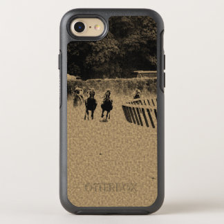 Horse Racing Muddy Track Grunge OtterBox Symmetry iPhone 7 Case