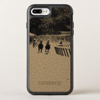 Horse Racing Muddy Track Grunge OtterBox Symmetry iPhone 7 Plus Case