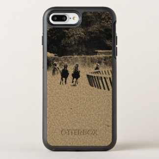 Horse Racing Muddy Track Grunge OtterBox Symmetry iPhone 8 Plus/7 Plus Case