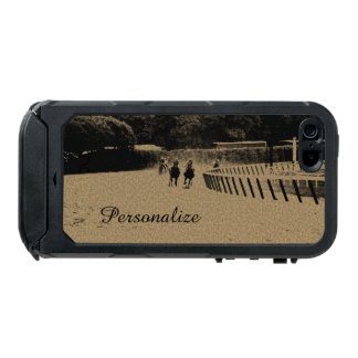Horse Racing Muddy Track Grunge Waterproof Case For iPhone SE/5/5s