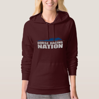 Horse Racing Nation Ladies' Hoodie