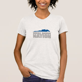 Horse Racing Nation Ladies' Tee