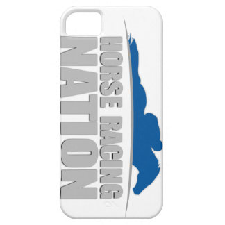 Horse Racing Nation Logo iPhone Case