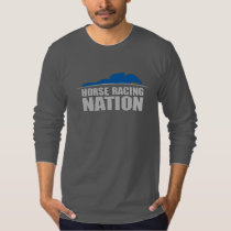 Horse Racing Nation Men's Long Sleeved Tee