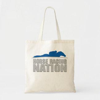 Horse Racing Nation Tote Bag