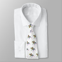 Horse Racing Neck Tie