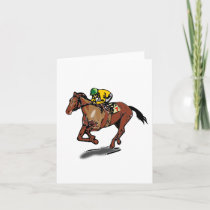 Horse Racing Note Cards
