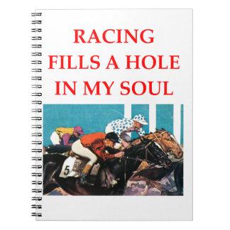 horse racing notebook