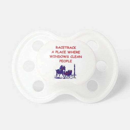 horse racing pacifier