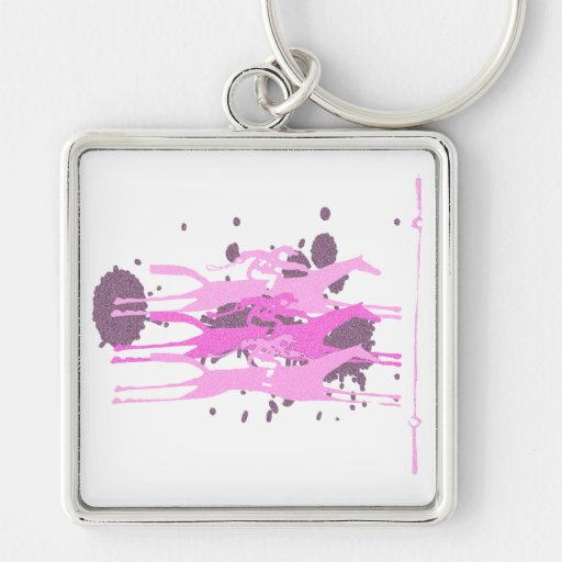 Horse Racing Party Favors Key Chain