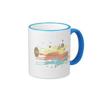 Horse Racing Party Favors Ringer Coffee Mug