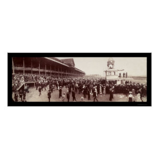 Horse Racing Photo 1902 Posters