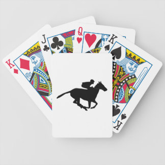 Horse Racing Pictogram Bicycle Card Deck