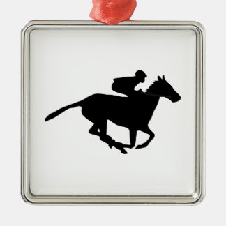 Horse Racing Pictogram Christmas Ornament