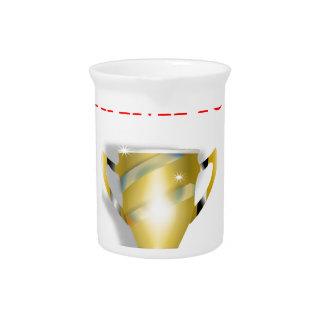 horse racing beverage pitchers