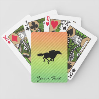 Horse Racing Poker Cards
