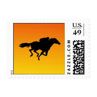Horse Racing Postage