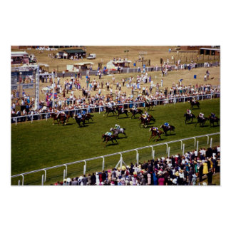 Horse racing posters
