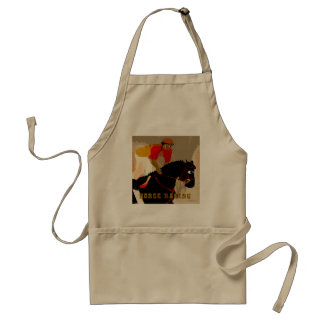 horse racing products adult apron