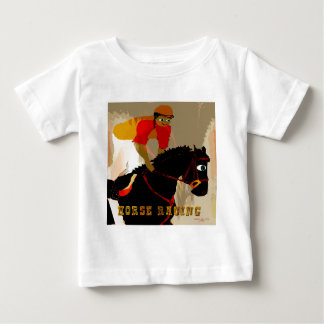 horse racing products baby T-Shirt