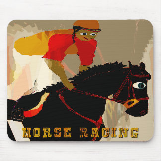 horse racing products mouse pad