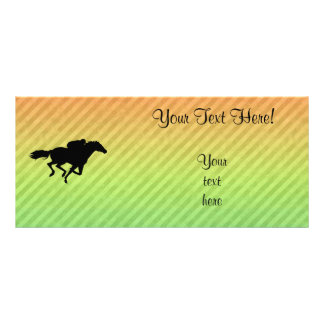 Horse Racing Rack Cards