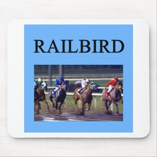 HORSE RACing railbird Mousepad