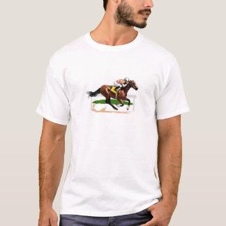 Horse Racing Scene T-Shirt