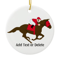 Horse Racing - SRF Ceramic Ornament